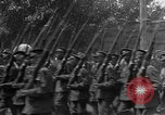 Image of military parade in town Russia, 1916, second 38 stock footage video 65675053078