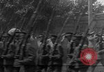 Image of military parade in town Russia, 1916, second 39 stock footage video 65675053078