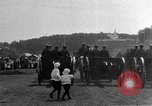 Image of military parade in town Russia, 1916, second 40 stock footage video 65675053078