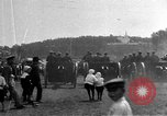 Image of military parade in town Russia, 1916, second 43 stock footage video 65675053078