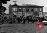 Image of military parade in town Russia, 1916, second 45 stock footage video 65675053078