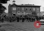Image of military parade in town Russia, 1916, second 46 stock footage video 65675053078