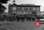Image of military parade in town Russia, 1916, second 49 stock footage video 65675053078