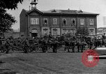 Image of military parade in town Russia, 1916, second 52 stock footage video 65675053078