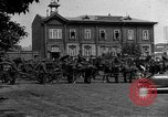 Image of military parade in town Russia, 1916, second 56 stock footage video 65675053078