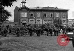 Image of military parade in town Russia, 1916, second 58 stock footage video 65675053078