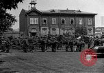 Image of military parade in town Russia, 1916, second 59 stock footage video 65675053078