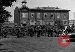 Image of military parade in town Russia, 1916, second 61 stock footage video 65675053078