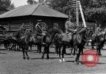 Image of military parade in town Russia, 1916, second 62 stock footage video 65675053078