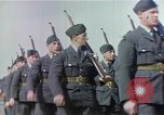 Image of British and United States Army Air Force personnel United Kingdom, 1942, second 22 stock footage video 65675053115