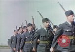 Image of British and United States Army Air Force personnel United Kingdom, 1942, second 24 stock footage video 65675053115