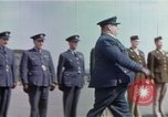 Image of British and United States Army Air Force personnel United Kingdom, 1942, second 35 stock footage video 65675053115