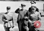 Image of Charles Huntziger Compiegne France, 1940, second 20 stock footage video 65675053123