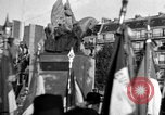 Image of King Alexander I monument Yugoslavia, 1936, second 55 stock footage video 65675053136