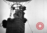 Image of hot air balloons taking off Europe, 1936, second 51 stock footage video 65675053137
