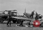 Image of Spitfire airplanes readied for combat United Kingdom, 1940, second 16 stock footage video 65675053155