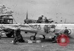Image of Spitfire airplanes readied for combat United Kingdom, 1940, second 17 stock footage video 65675053155