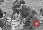 Image of Spitfire airplanes readied for combat United Kingdom, 1940, second 30 stock footage video 65675053155