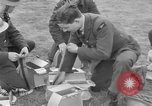 Image of Spitfire airplanes readied for combat United Kingdom, 1940, second 31 stock footage video 65675053155