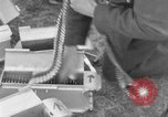 Image of Spitfire airplanes readied for combat United Kingdom, 1940, second 33 stock footage video 65675053155