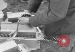 Image of Spitfire airplanes readied for combat United Kingdom, 1940, second 34 stock footage video 65675053155