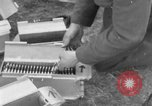 Image of Spitfire airplanes readied for combat United Kingdom, 1940, second 36 stock footage video 65675053155