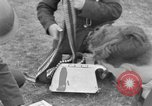 Image of Spitfire airplanes readied for combat United Kingdom, 1940, second 39 stock footage video 65675053155