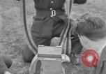 Image of Spitfire airplanes readied for combat United Kingdom, 1940, second 40 stock footage video 65675053155