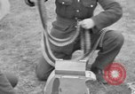 Image of Spitfire airplanes readied for combat United Kingdom, 1940, second 42 stock footage video 65675053155