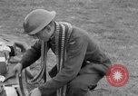 Image of Spitfire airplanes readied for combat United Kingdom, 1940, second 46 stock footage video 65675053155
