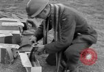 Image of Spitfire airplanes readied for combat United Kingdom, 1940, second 47 stock footage video 65675053155