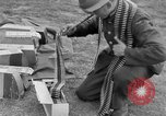 Image of Spitfire airplanes readied for combat United Kingdom, 1940, second 48 stock footage video 65675053155