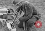 Image of Spitfire airplanes readied for combat United Kingdom, 1940, second 49 stock footage video 65675053155