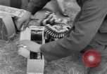 Image of Spitfire airplanes readied for combat United Kingdom, 1940, second 55 stock footage video 65675053155