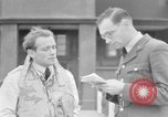 Image of RAF pilots briefing in Battle of Britain United Kingdom, 1940, second 31 stock footage video 65675053160