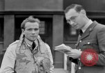 Image of RAF pilots briefing in Battle of Britain United Kingdom, 1940, second 33 stock footage video 65675053160