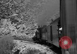 Image of train Colorado United States USA, 1940, second 56 stock footage video 65675053163