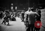 Image of Pennsylvania Railroad Station New York City USA, 1940, second 13 stock footage video 65675053166