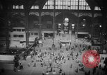 Image of Pennsylvania Railroad Station New York City USA, 1940, second 40 stock footage video 65675053166