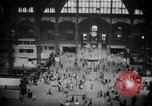 Image of Pennsylvania Railroad Station New York City USA, 1940, second 45 stock footage video 65675053166