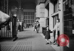 Image of Pennsylvania Railroad Station New York City USA, 1940, second 24 stock footage video 65675053168