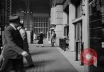 Image of Pennsylvania Railroad Station New York City USA, 1940, second 27 stock footage video 65675053168