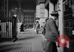 Image of Pennsylvania Railroad Station New York City USA, 1940, second 28 stock footage video 65675053168