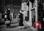 Image of Pennsylvania Railroad Station New York City USA, 1940, second 32 stock footage video 65675053168