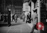 Image of Pennsylvania Railroad Station New York City USA, 1940, second 39 stock footage video 65675053168