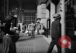 Image of Pennsylvania Railroad Station New York City USA, 1940, second 44 stock footage video 65675053168