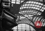Image of Pennsylvania Railroad Station New York City USA, 1940, second 48 stock footage video 65675053168