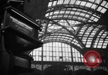 Image of Pennsylvania Railroad Station New York City USA, 1940, second 49 stock footage video 65675053168