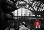 Image of Pennsylvania Railroad Station New York City USA, 1940, second 50 stock footage video 65675053168