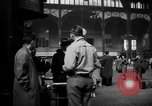 Image of Pennsylvania Railroad Station New York City USA, 1940, second 52 stock footage video 65675053168